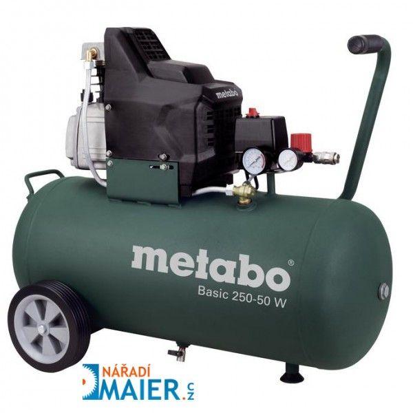 METABO Basic 250-50 W kompresor olejový