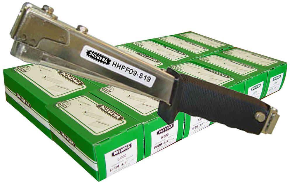 Ruční sponkovačka Prebena HHPF09 + 10 balení PF09CNK