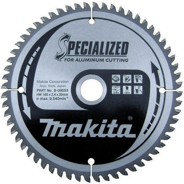 Makita B-09656 pilový kotouč 260mm 80z
