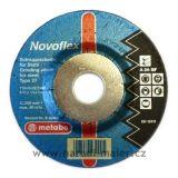Brusný kotouč 115x6x22mm Novoflex ocel
