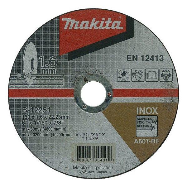 Makita B-12251 150x1,6x22,2 řezný kotouč