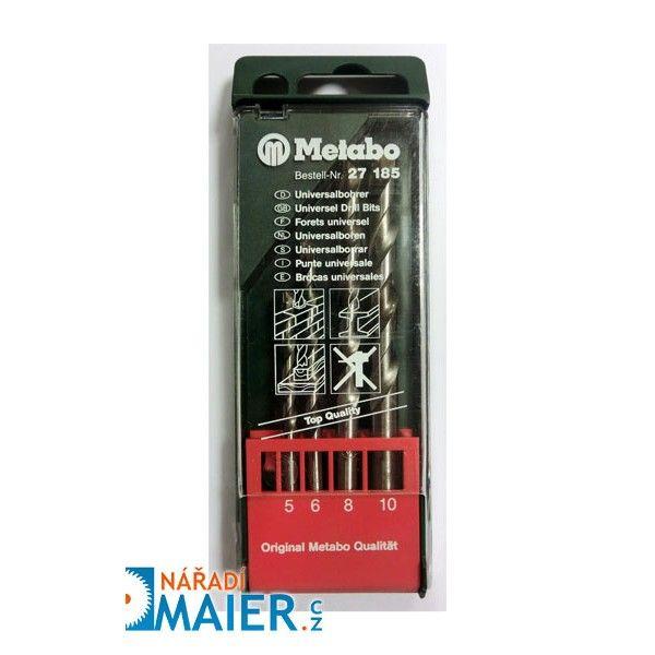 Metabo 27185 sada vrtáků 4-dílná