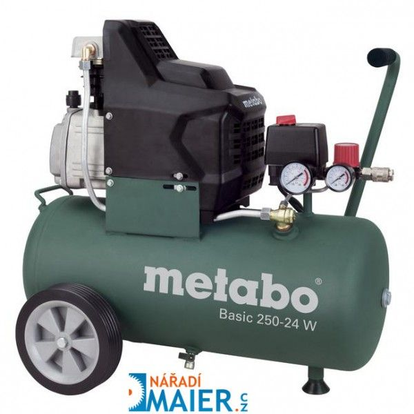 METABO Basic 250-24 W kompresor olejový