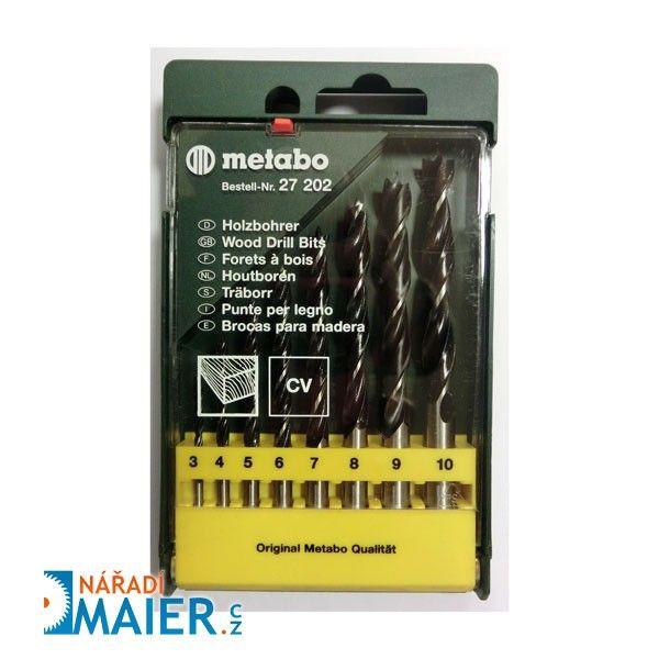 Metabo 27202 sada vrtáků 8-dílná