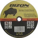 Bizon 230x1,9mm řezný kotouč na ocel a nerez