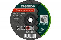 Metabo 616731000 125x6,0x22,2mm brusný kotouč kámen