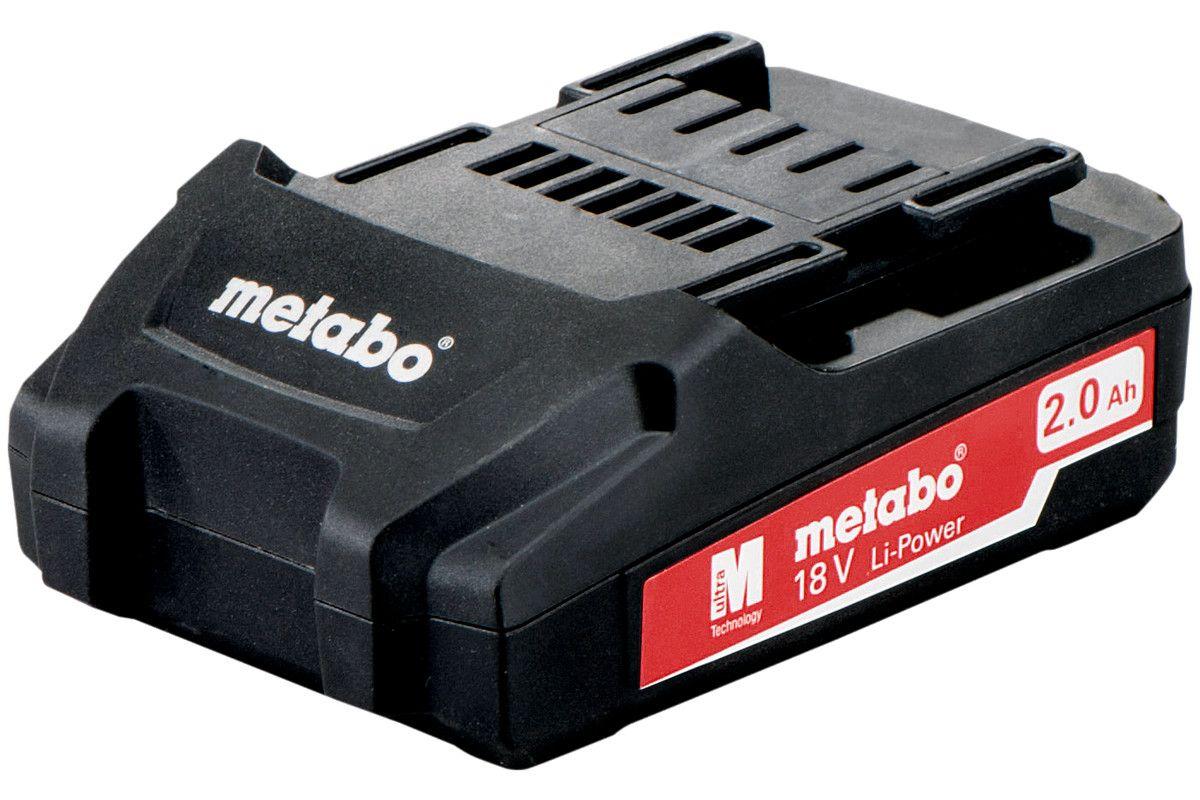 Metabo akumulátor 18V 2,0Ah 625596000