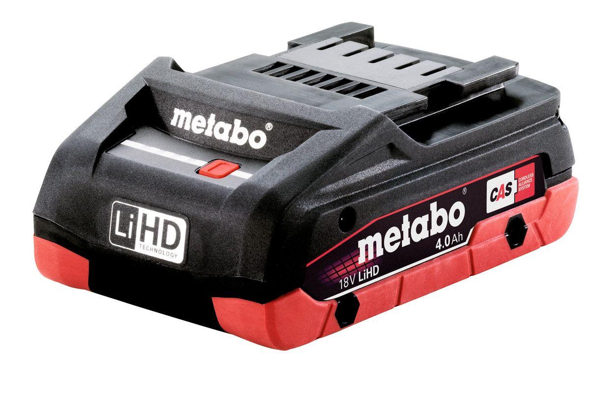 Metabo akumulátor LiHD 18V 4,0 Ah