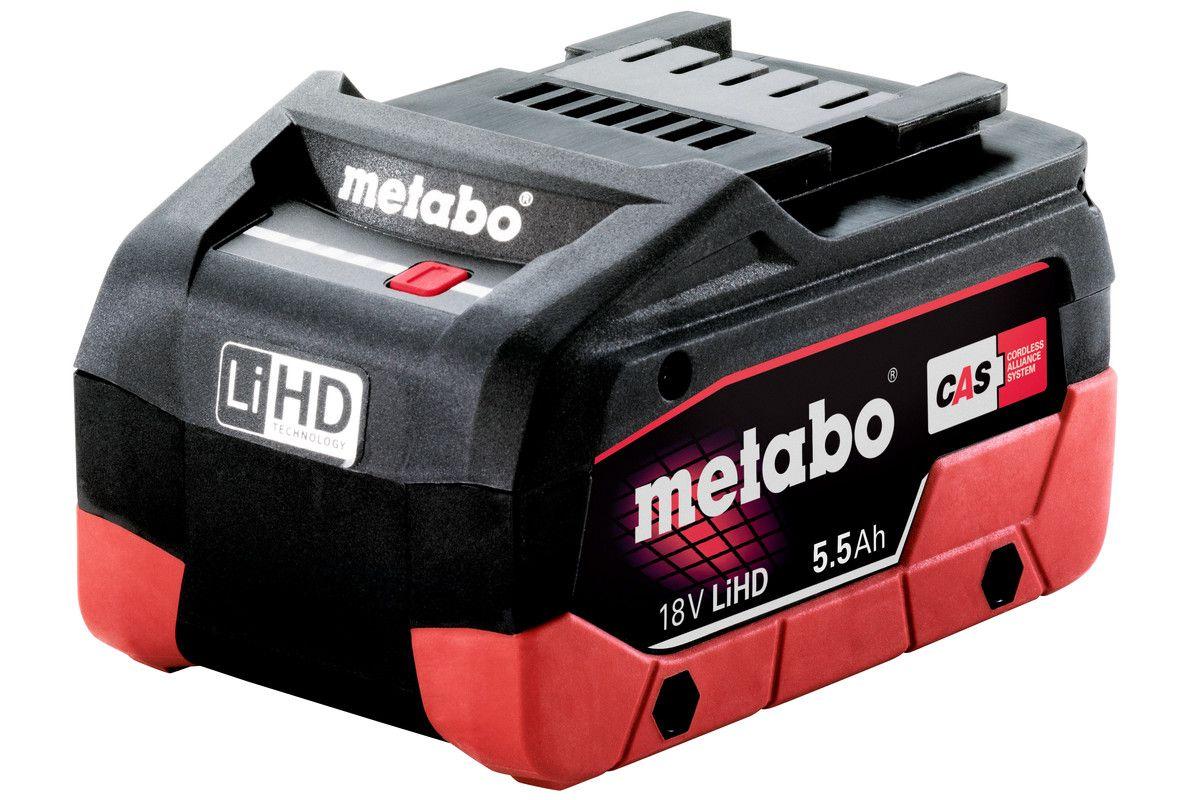Metabo akumulátor LiHD 18 V - 5,5 Ah Originál