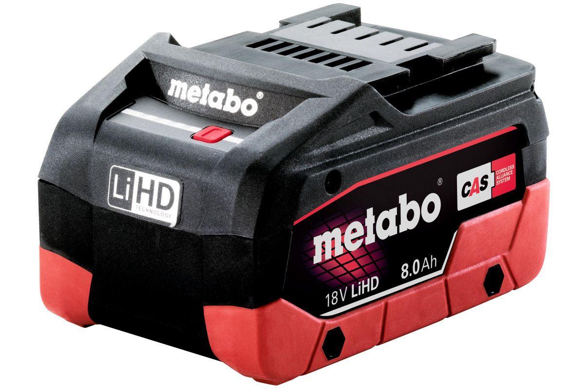 Metabo akumulátor LiHD 18 V - 8,0 Ah Originál