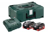 Metabo Basic-Set 2 x LiHD 5.5 Ah + ASC Ultra + Metaloc