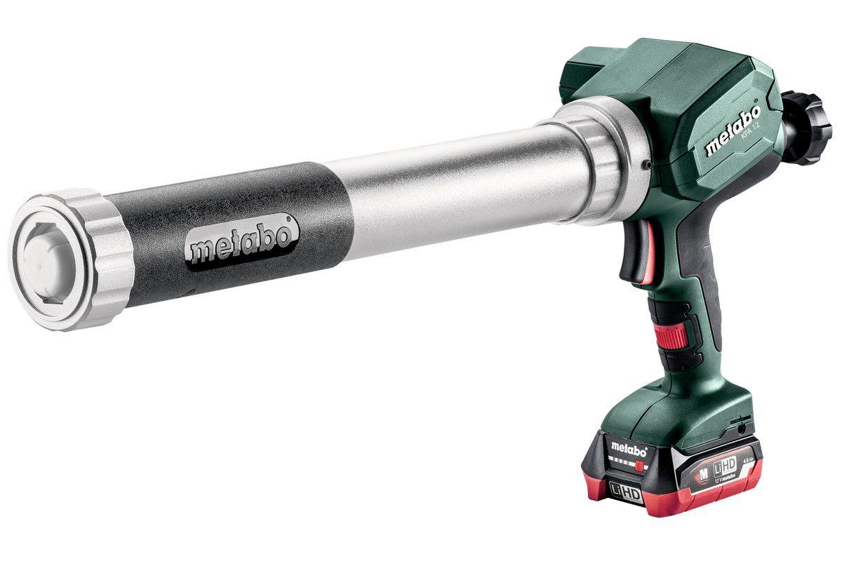 METABO KPA 12 600 / 12V aku aplikační pistole na kartuše a foliové sáčky, bez aku