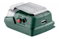 Metabo PowerMaxx PA 12 adaptér s LED svítilnou a USB nabíječkou. BEZ akumulátoru