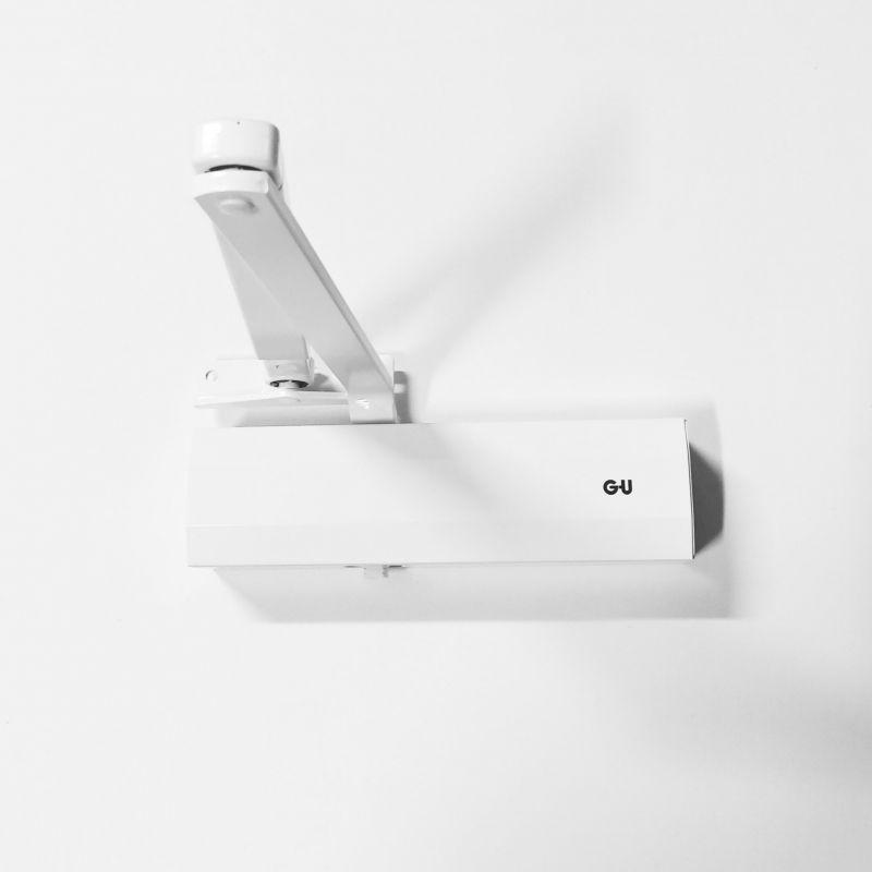 Dveřní samozavírač GU OTS 210 bílá