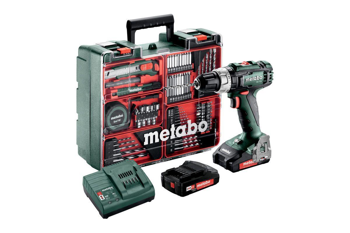 602317870 Metabo SB 18 L Set