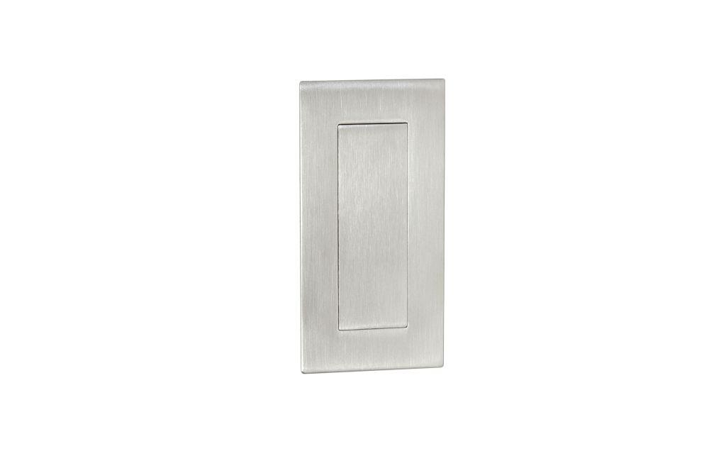 Madélko na posuvné dveře matný chrom