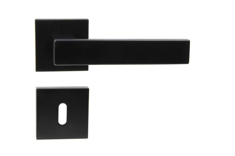 Dveřní kování TORINO na dózický klíč černé