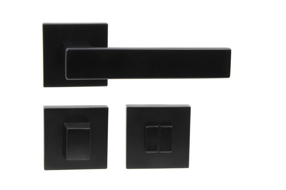Dveřní kování TORINO na WC černé