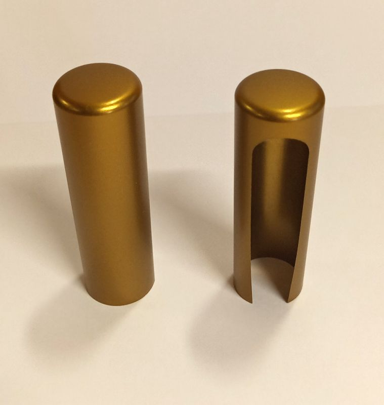 SFS krytka na panty 15mm bronz