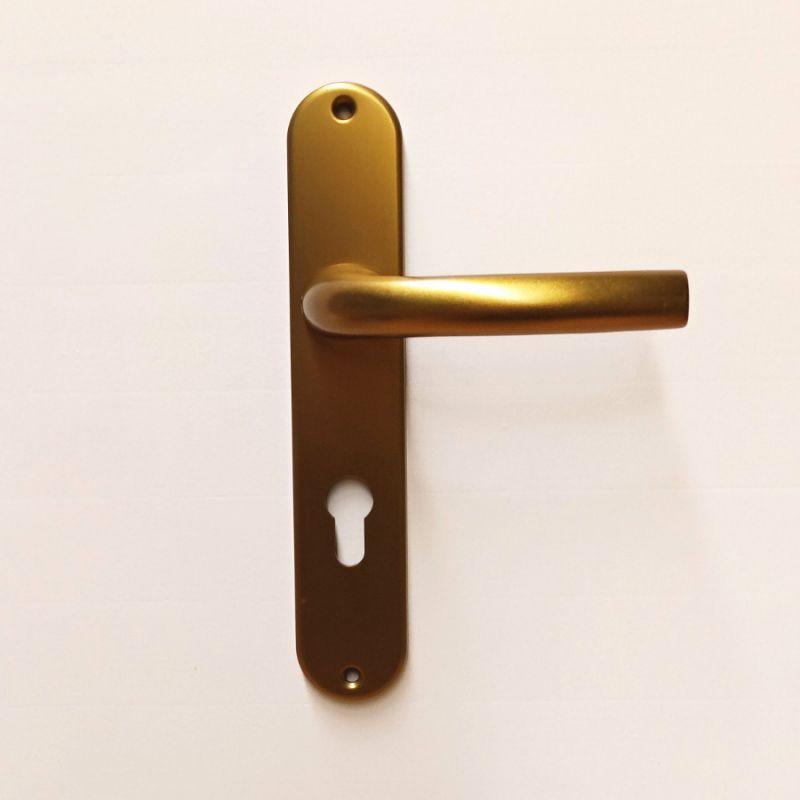 Dveřní kování Sabrina F4 bronz klika/klika PZ