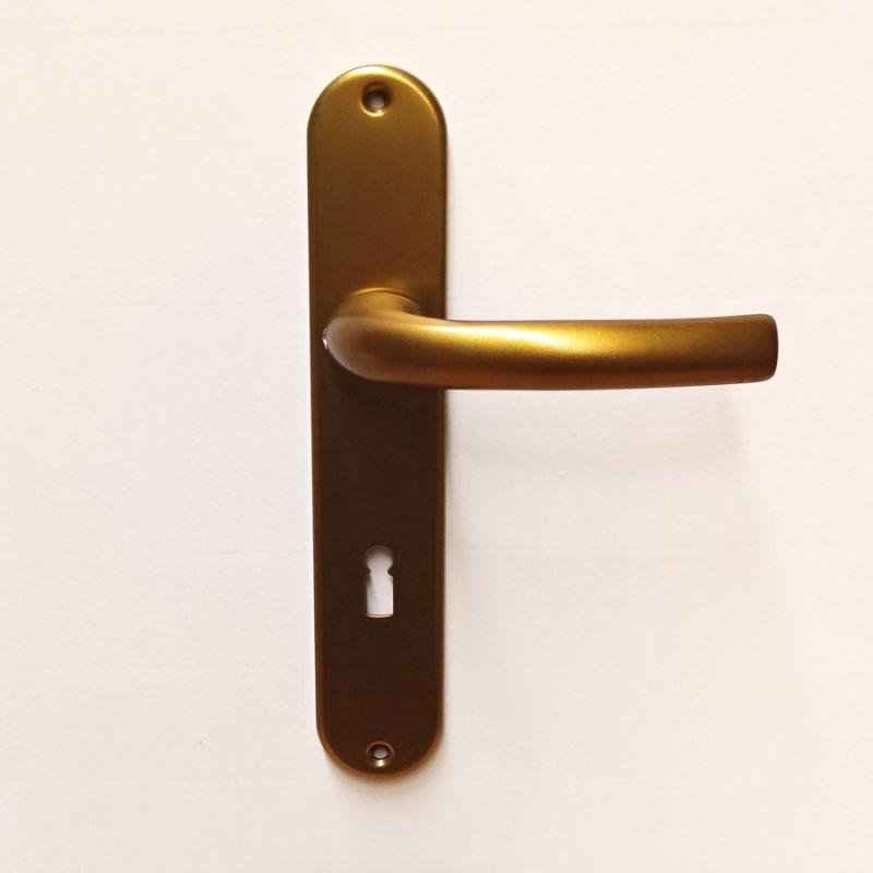 Dveřní kování Sabrina F4 bronz klika/klika BB 90mm