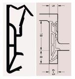 DEVENTER SV185 rustikal hnědé dveřní těsnění 18mm