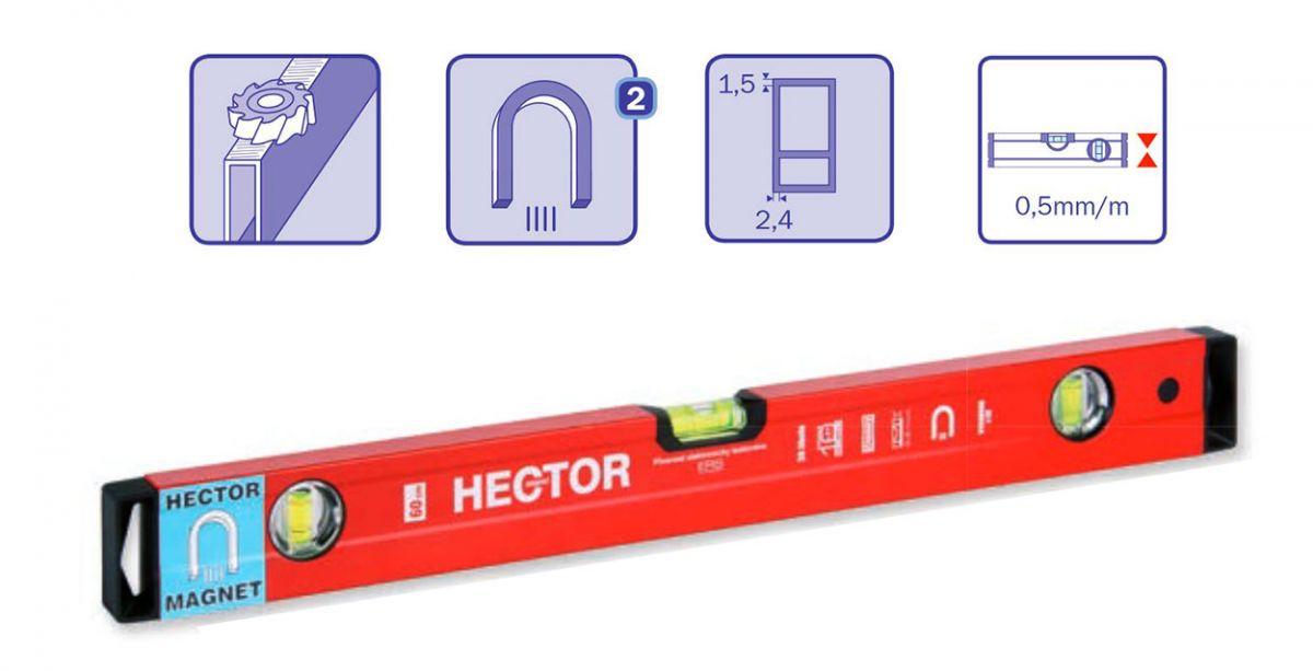 Magnetická vodováha Hector 100cm Profi